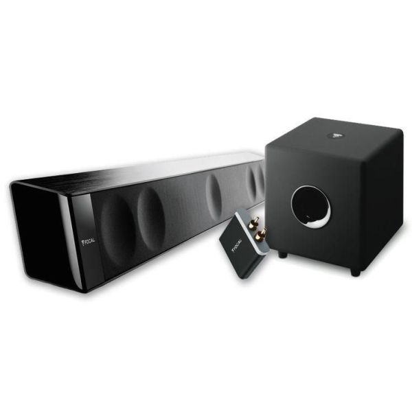 Soundbar focal dimension bar sub cub 3