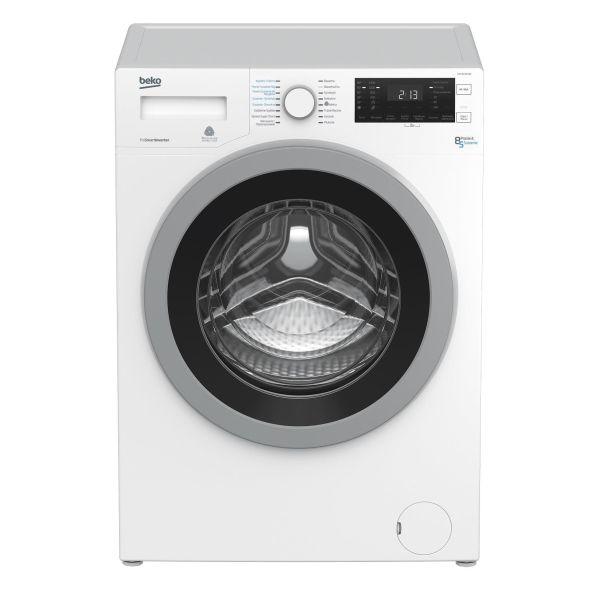 biała pralko-suszarka dobrej firmy