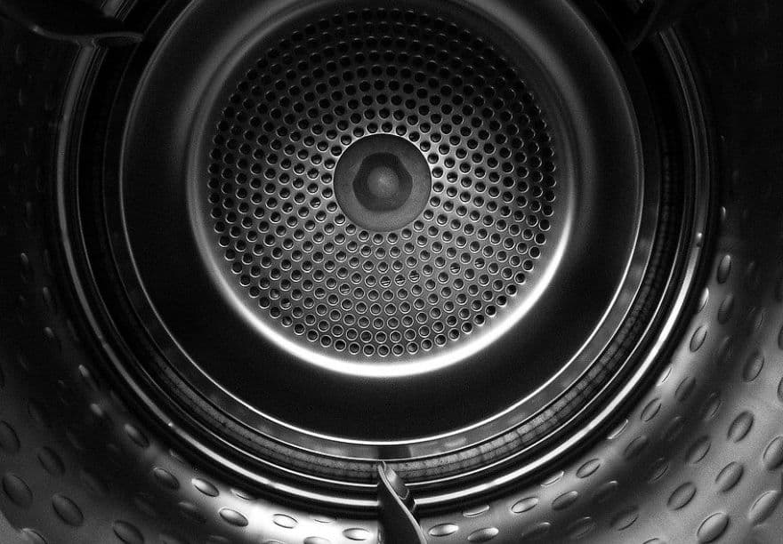 bęben elektrycznej suszarki do prania