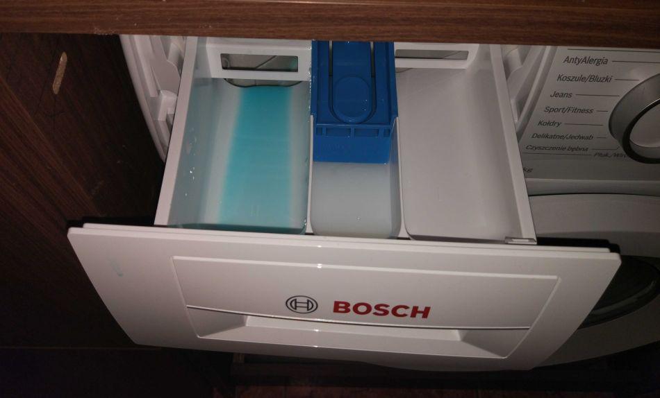 przegródki z detergentami do prania