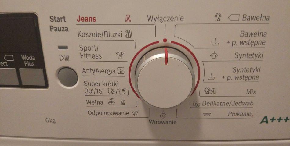 podstawowe i specjalne programy prania nowoczesnej pralki