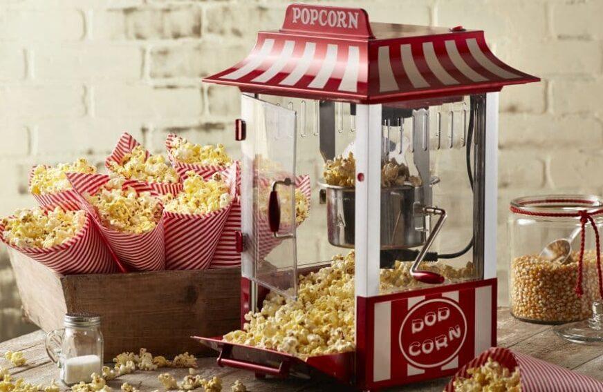 ranking automatów do robienia popcornu w domu