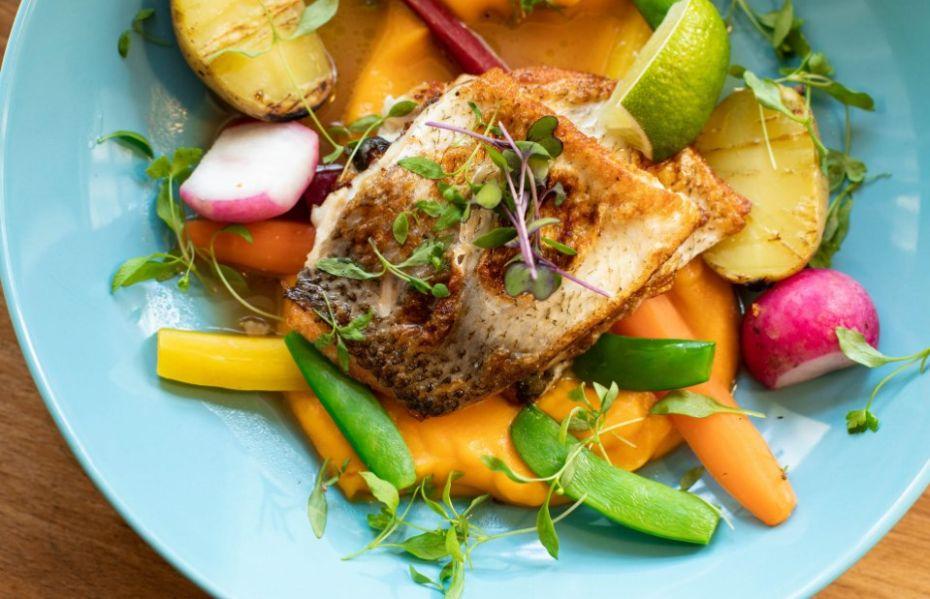 zdrowe danie ugotowane na parze