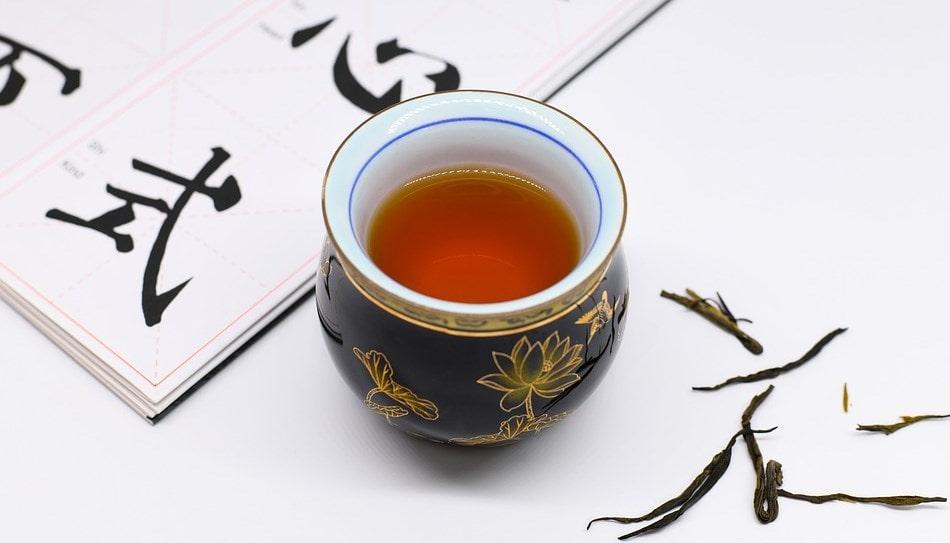 prawidzwa czerwona herbata pu-erh z Chin