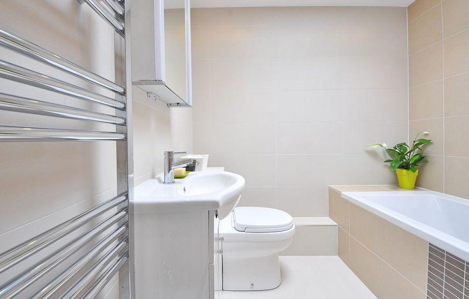 wyczyszczona łazienka