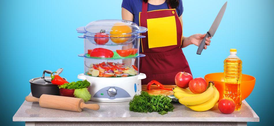 działanie parowaru sprzyja zdrowemu gotowaniu