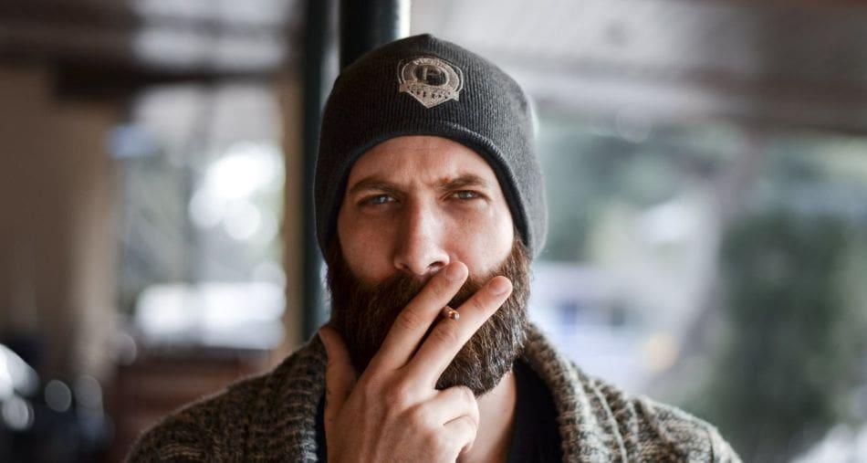 papierosy szkodzą też brodzie