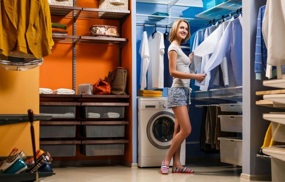 pralka w garderobie wady i zalety