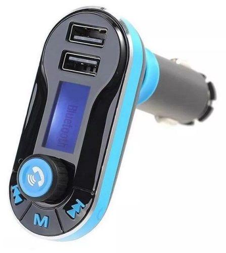 tranmiter fm z wyświetlaczem i dwoma portami USB