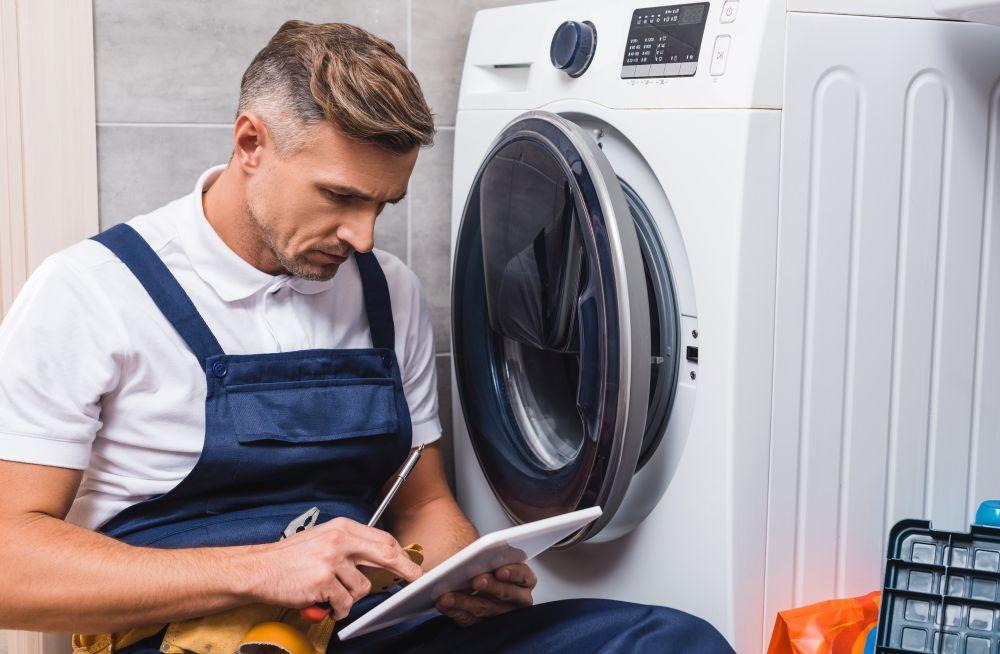 wymianę łożysk w pralce czasem lepiej zlecić specjaliście