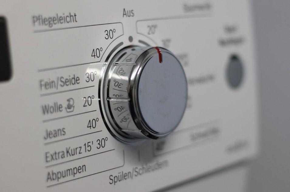 temperatura prania ma duży wpływ na zużycie prądu