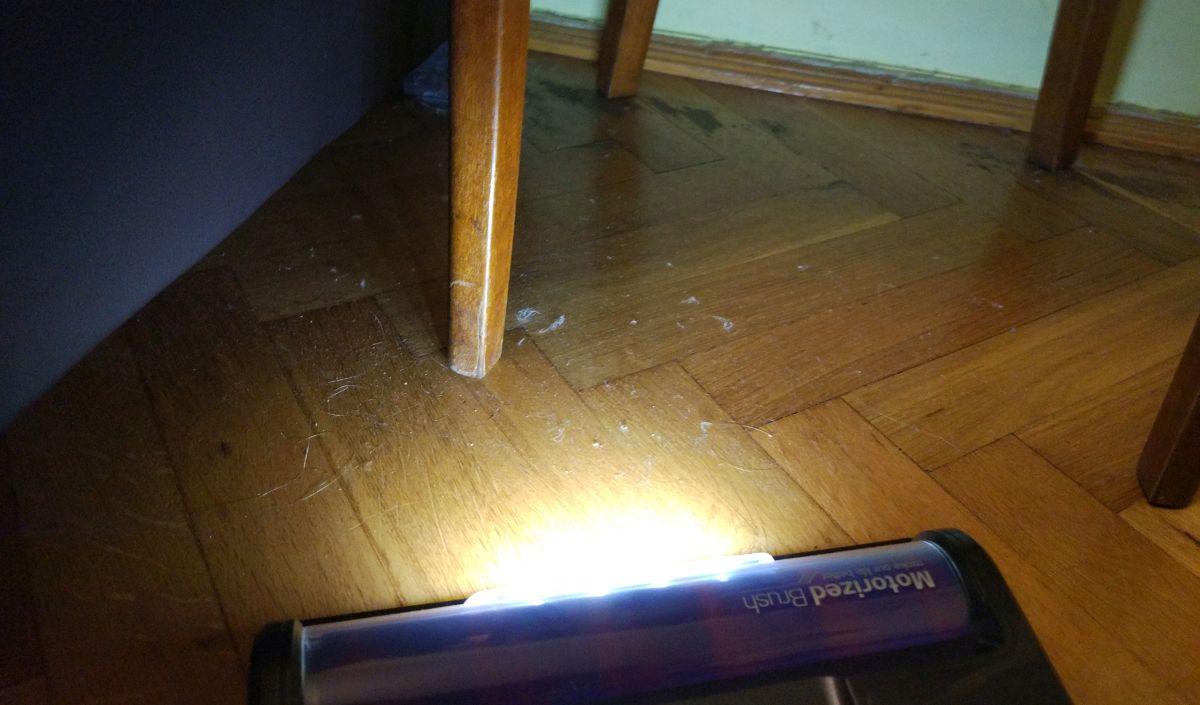 Dibea F20 MAX świecące diody LED 3