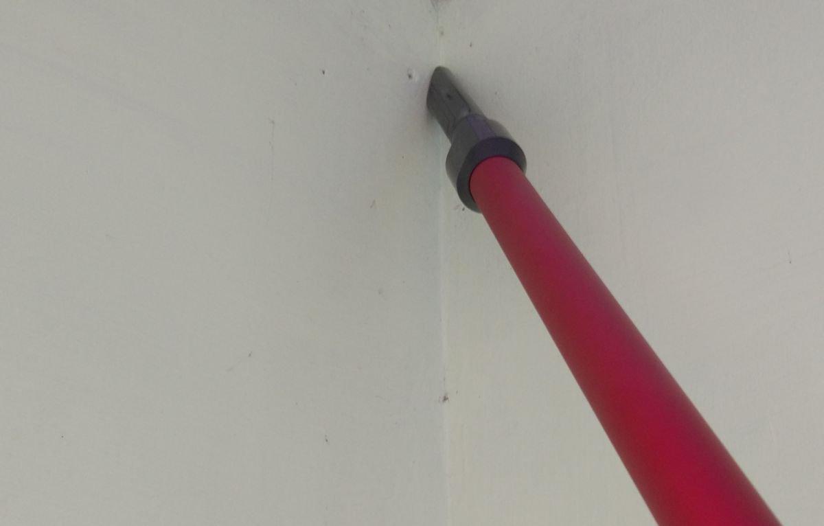 Dibea F20 MAX odkurzanie tarasu z pajęczyn