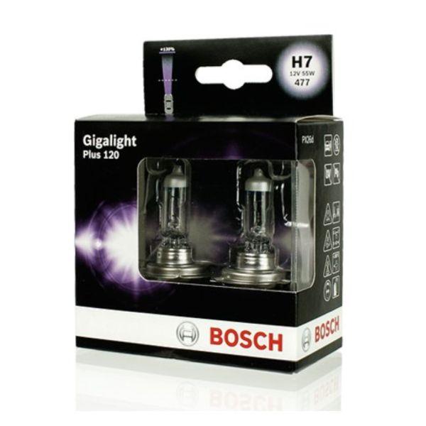 żarówka H7 Bosch GIGALIGHT +120%