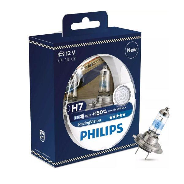 żarówka H7 Philips Racing Vision +150%