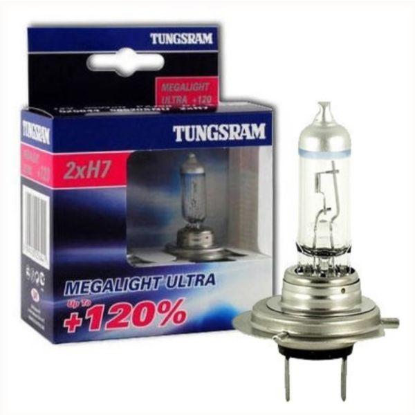 żarówka H7 Tungsram MegaLight Ultra +120%