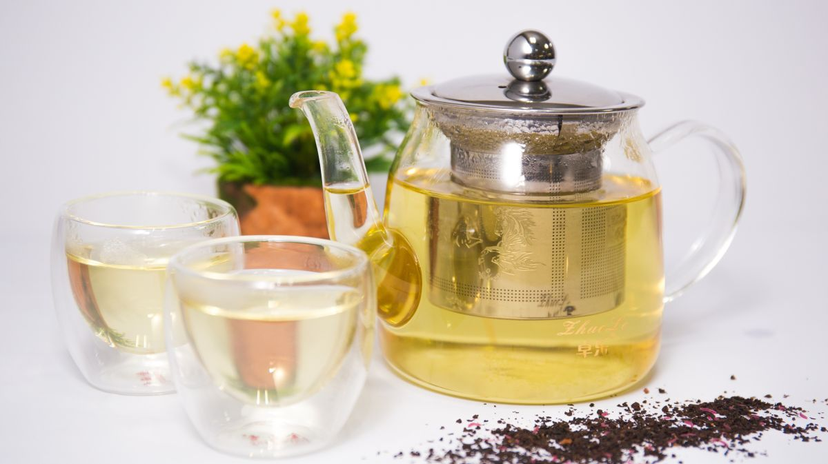 zaparzona herbata bez dodatku cukru