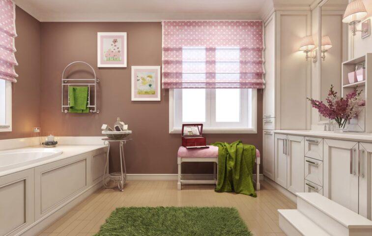 pranie i pielęgnacja rolet rzymskich - poradnik