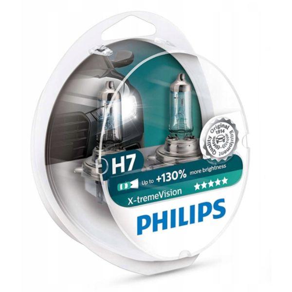 żarówki H7 Philips X-Treme Vision 130% dwupak