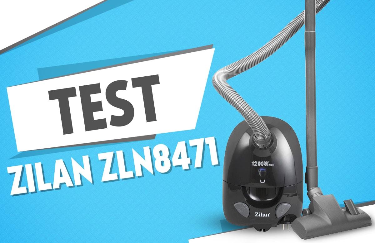 Test odkurzacza workowego Zilan ZLN8471