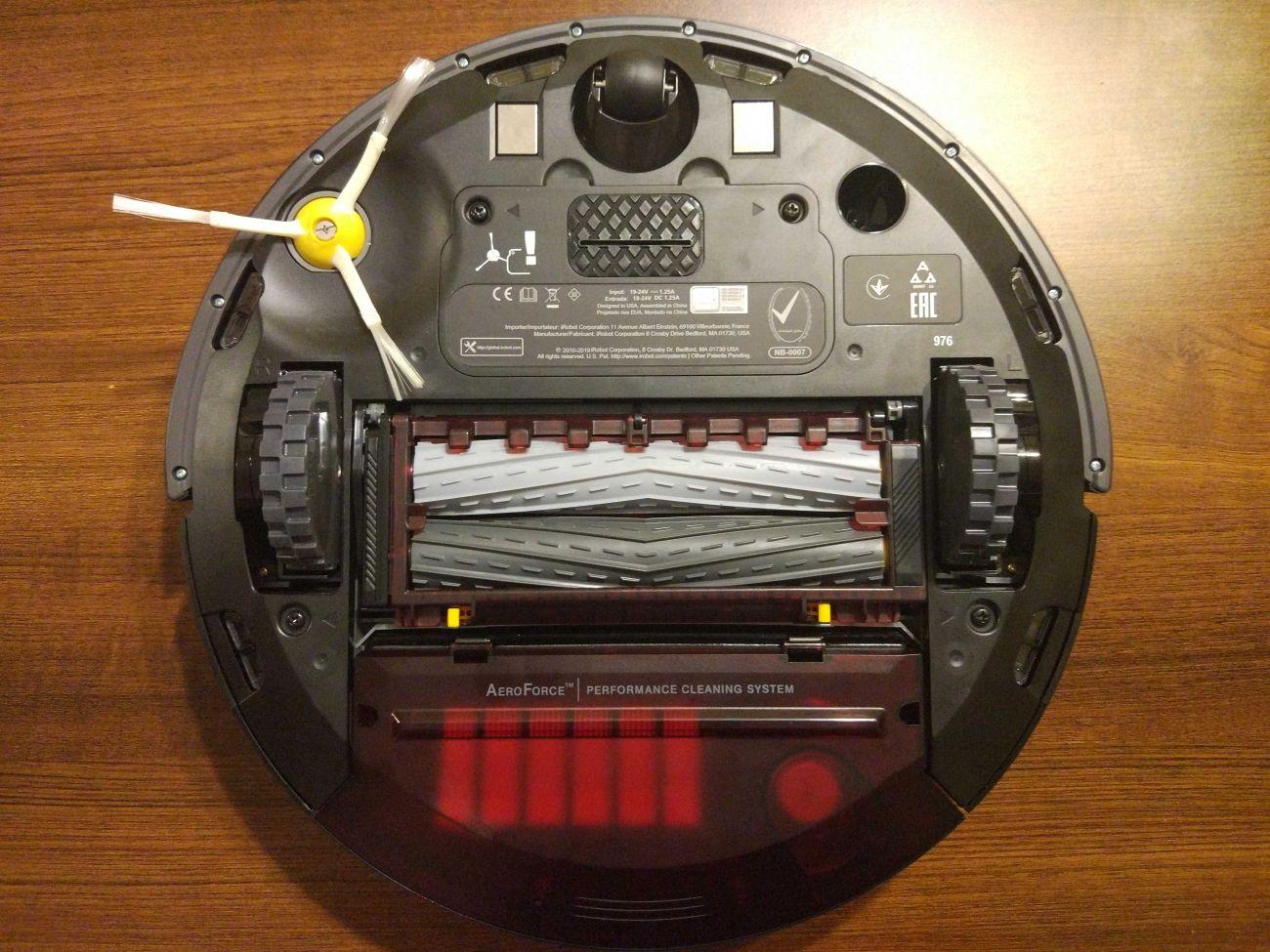 iRobot Roomba 976 widok od spodu