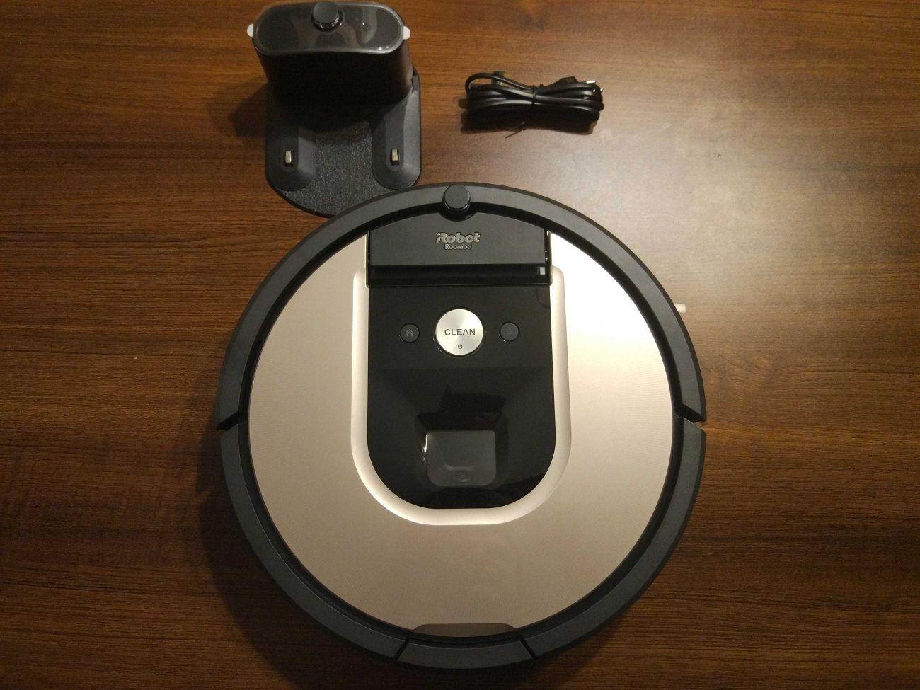 iRobot Roomba 976 wyposażenie z zestawu
