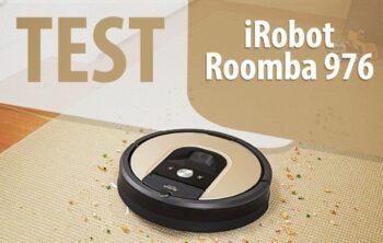 Test robota sprzątającego iRobot Roomba 976