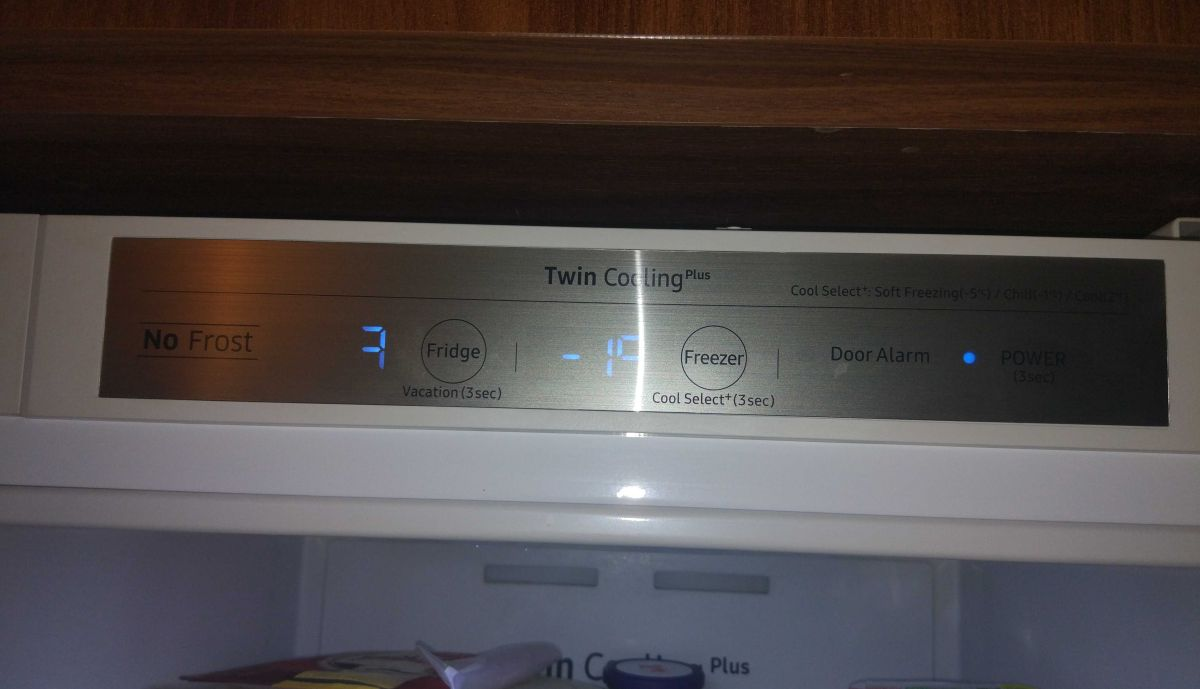 panel Twin Cooling Plus, czyli 2 niezależne obiegi powietrza