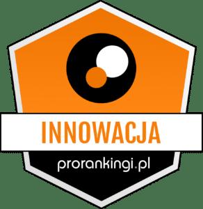 odznaczenie innowacja od prorankingów