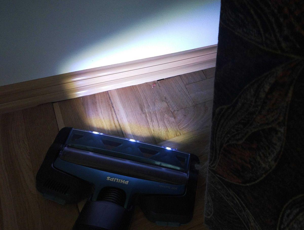 Philips XC8147/01 diody LED oświetlające śmieci