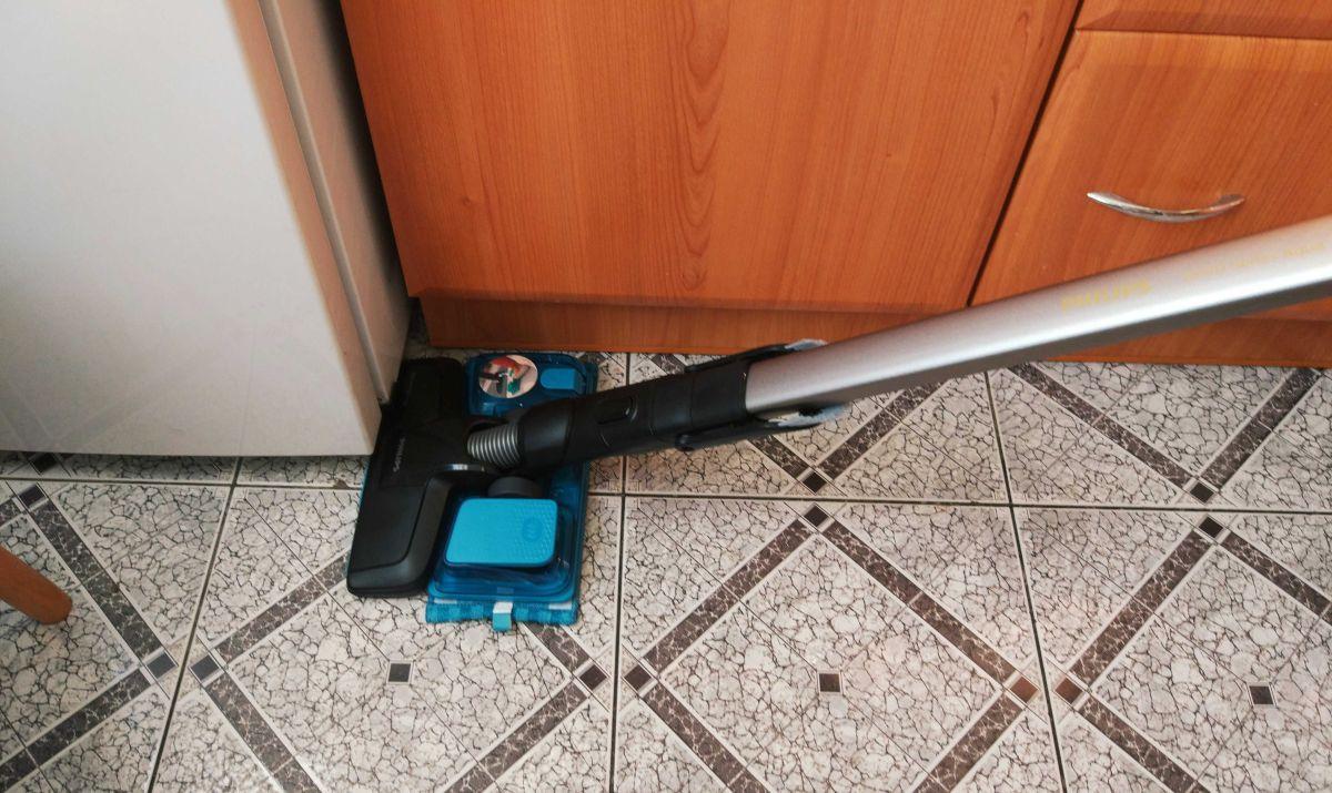 Philips XC8147/01 test mycia płytek w kuchni 2