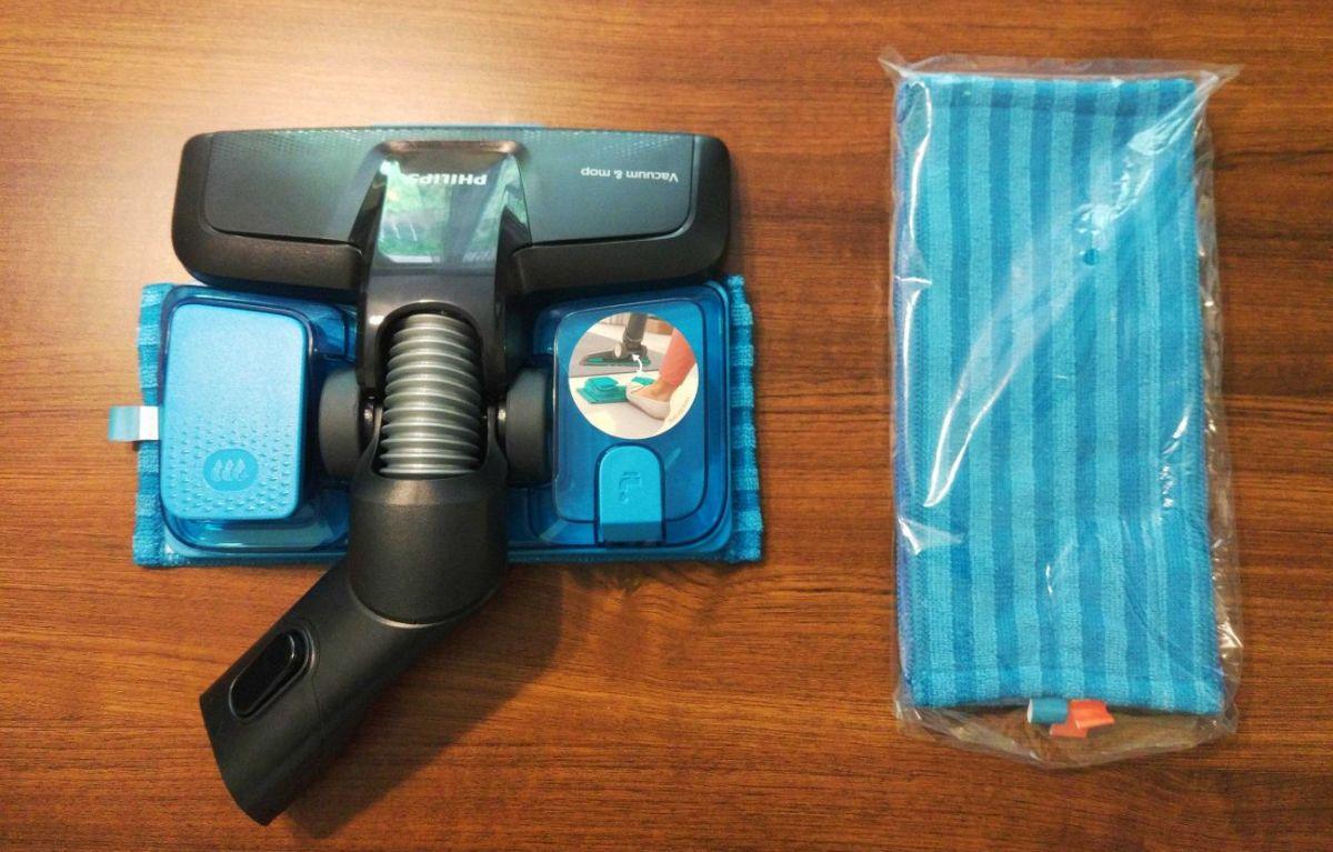 Philips XC8147/01 nasadka Aqua i dodatkowe mikrofibry