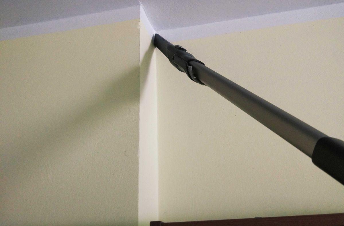 Philips XC8147/01 odkurzanie pajęczyn z zamontowaną szczelinówką