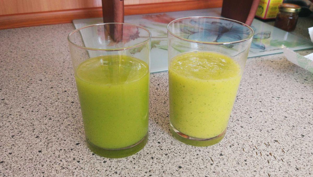 2 koktajl - porównanie miksowania w próżni i normalnie w innym blenderze 3