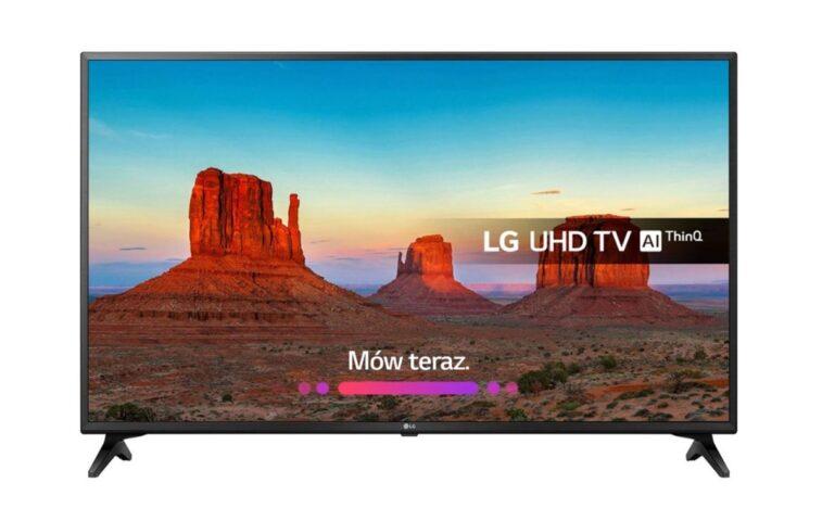 Telewizor LG 75UK6200 test, recenzja, opinia