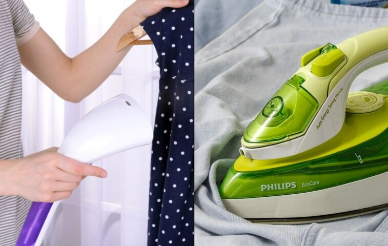 parownica do ubrań czy żelazko - co lepsze?