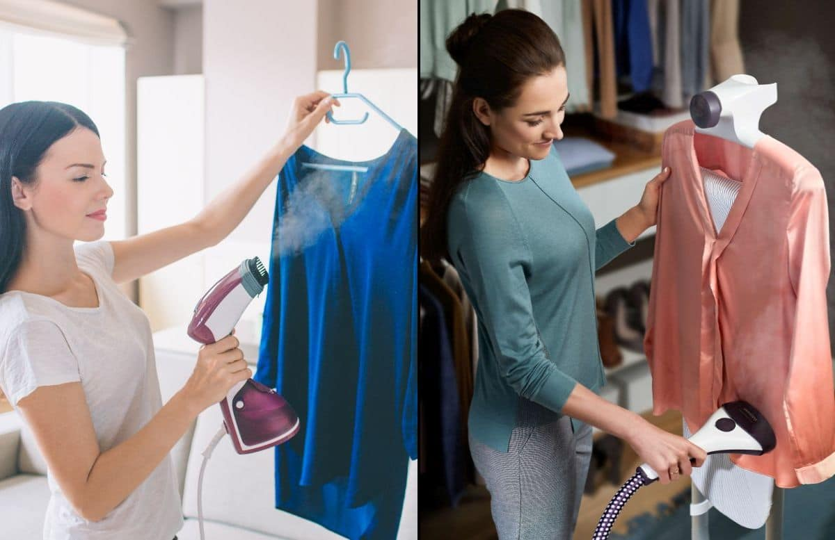 Parownica do ubrań ręczna czy stojąca - który rodzaj lepszy