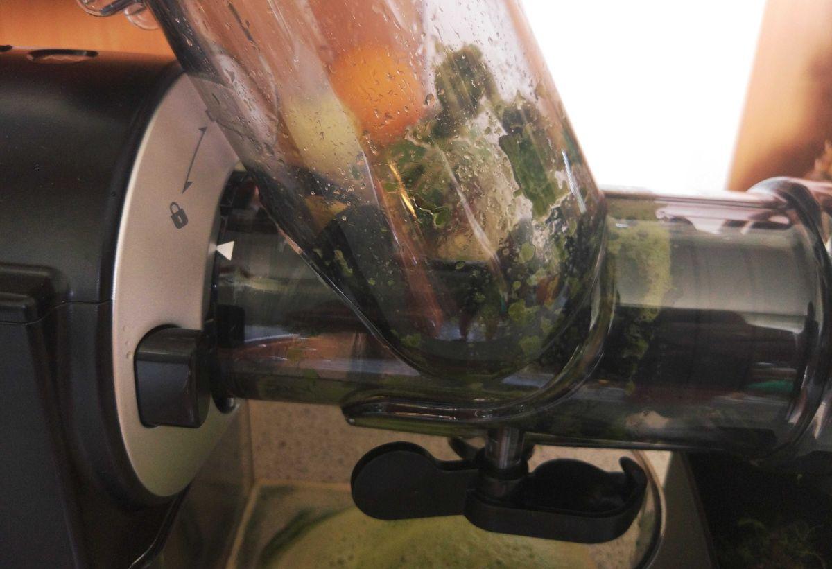Philips HR1889/70 brudna tuba modułu wyciskania