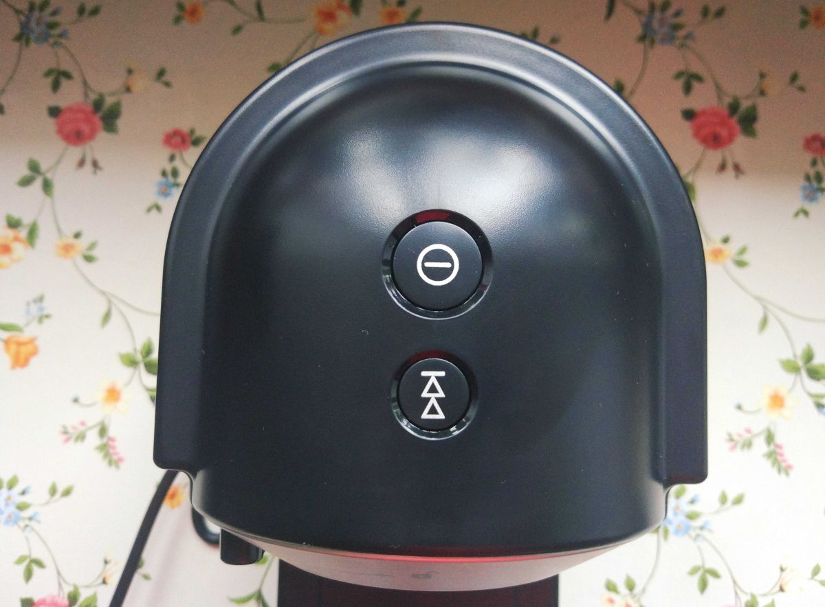 Wyciskarka wolnoobrotowa Philips HR1889/70 panel sterowania z 2 przyciskami