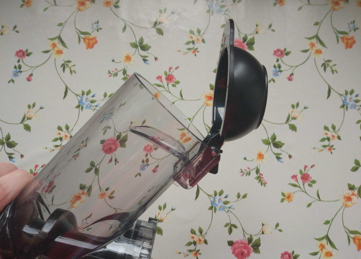 Wyciskarka wolnoobrotowa Philips HR1889/70 tuba z wlotem na składniki soku