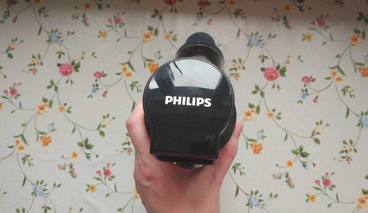 Wyciskarka wolnoobrotowa Philips HR1889/70 wylot miąższu