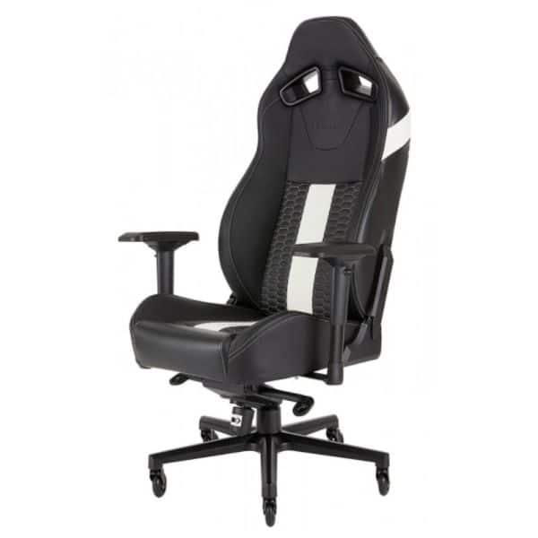Fotel gamingowy Corsair T2 Road Warrior Czarno-Biały