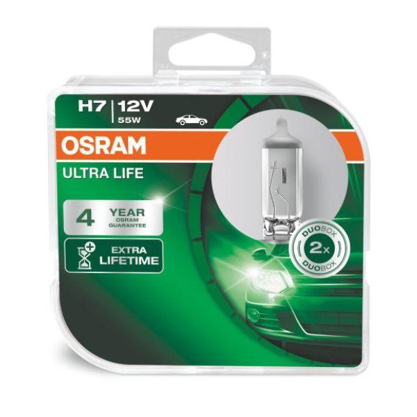 żarówka H7 Osram Ultra Life H7 PX26D