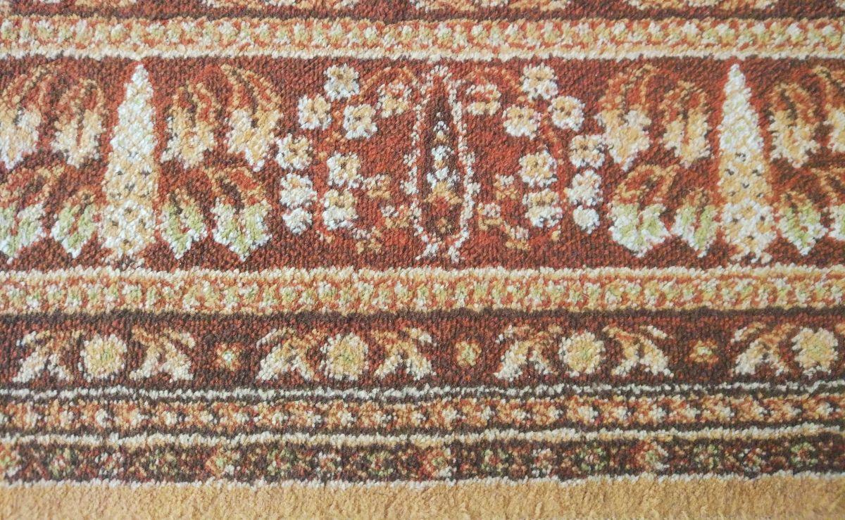 Czysty dywan po teście odkurzania PURON PR10