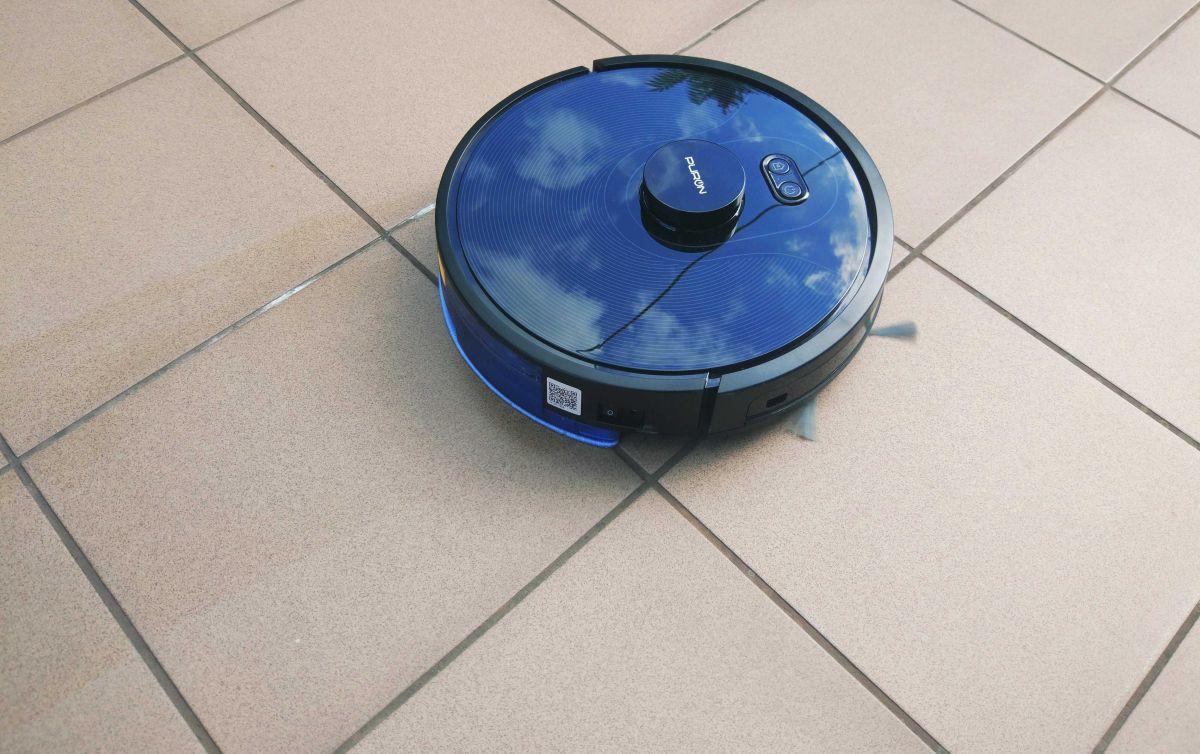 PURON PR10 test mopowania - mycie tarasu 2