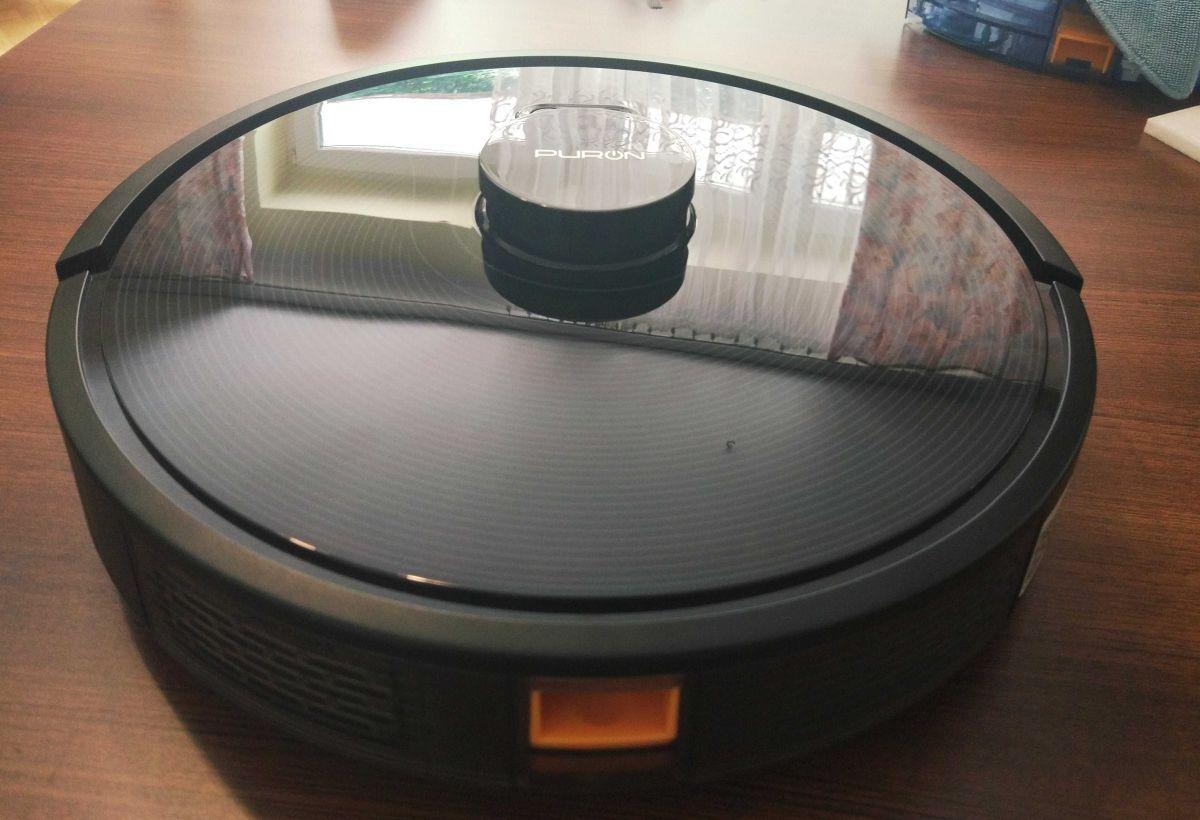 PURON PR10 wykończony połyskliwym plastikiem typu piano black