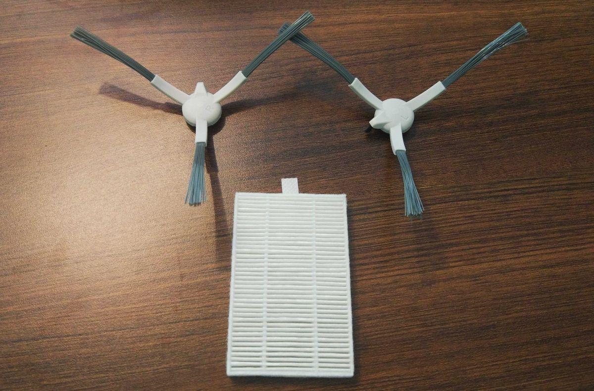 PURON PR10 zapasowe szczotki boczne i filtr