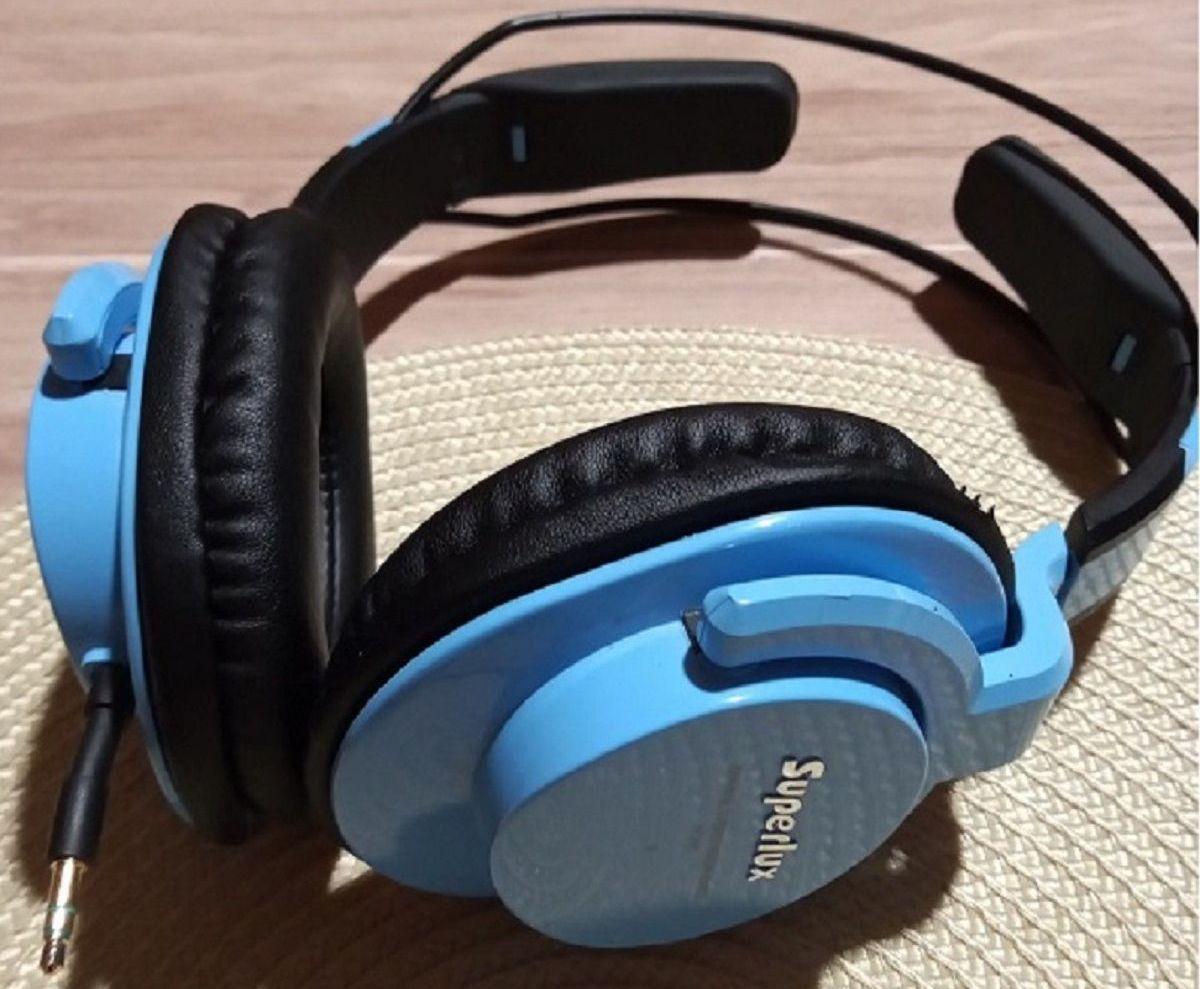 Słuchawki nauszne Superlux HD661 ogólna konstrukcja i wygląd