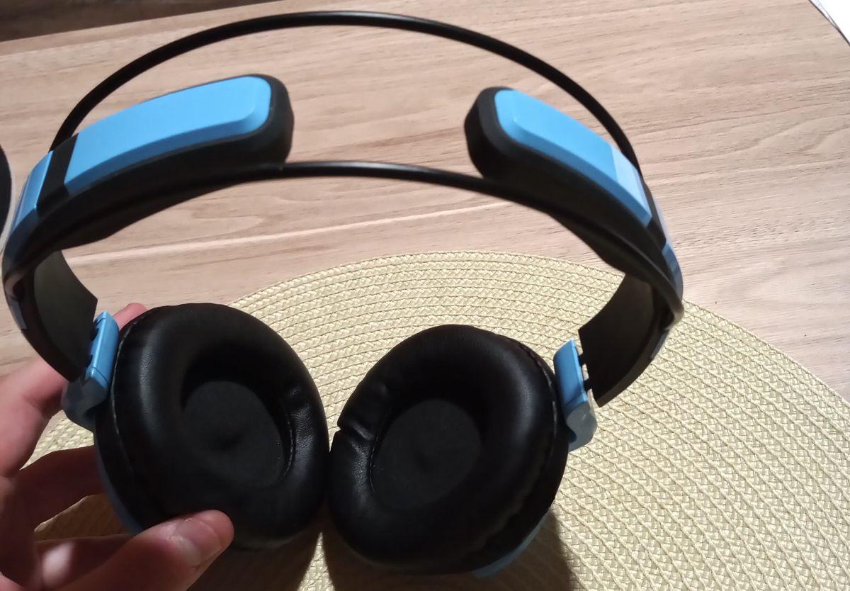 Słuchawki nauszne Superlux HD661 pałąk i ogólne wykonanie