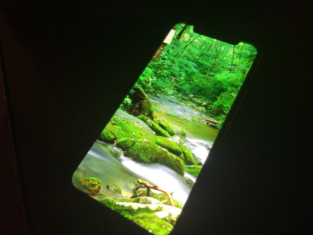 iPhone 11 Pro test kolorów ekranu